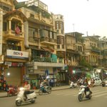 Old town Hanoi where Tirant hotel is located