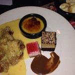 selection of tasty deserts