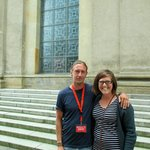 Me with the tour guide Zabi at the end of the tour.