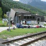The Alpspitzbahn station