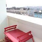 Petit balcon privé