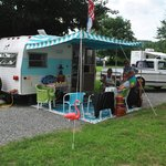 Vintage Camper Rallies Twice a Season