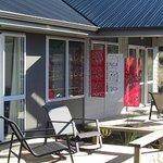 Deck areas of the Whakapapa and Ruapehu Suites