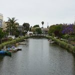 The canals in Venice Beach