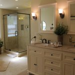 The Sunporch Room's new en suite bathroom.