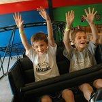 Indoor Roller Coaster!