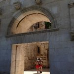 Diocletian's Palace walls in Split