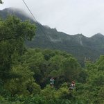 1800 feet long tandem zip!