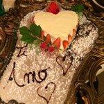 dessert della cena romantica