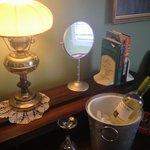 wine and treats!