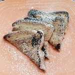 """Sunrise Cafe short stack of """"Thick"""" ...or not so thick...French Toast"""