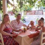 family photo in meltimi