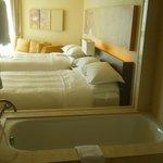 room and bathtube