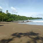 Beach via short walk