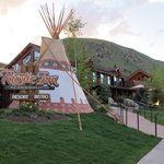 Rustic Inn Creekside Resort and Spa in Jackson, Wyoming.