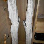 peignoir et chaussons