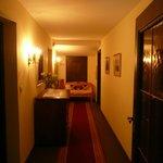 hallway on top floor (suite)
