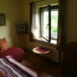sitting room on top floor (suite)