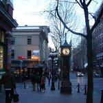 O relógio e as ruas