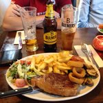 had this on bank holiday sunday with a group of my mates cant explain great food, awesome steak