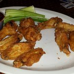 I absolutely love the wings here. I prefer my wings naked with a crispy outside and moist inside
