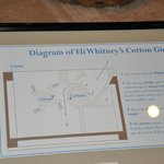 Cotton gin display