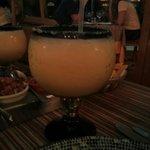 Margaritas en el restaurant  los gallos