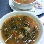 Kale Soup and other daily Homemade Soups