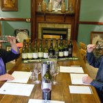 A collegial lesson in tasting wine