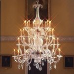 Octagon chandelier at the Assembly Rooms