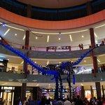 Dinosaur in the mall