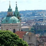 View from Prague Castle area