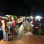 Vendors on site a few nights a week