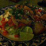 Delicious Mexican buffet food