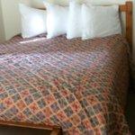 inside room beds
