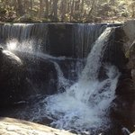 one of the lower falls at Enders State Forest