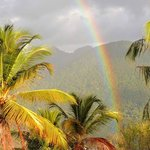 Rainbow from Papaya deck
