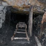 In the mines!