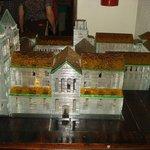 Maquete do mosteiro São Bento