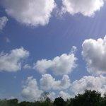 Usa tu imaginación y busca objetos en las nubes
