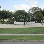 Great View of the Beverly Hills Sign