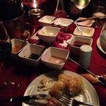 Muito bom o fondue, os molhos, batata quatro queijos.. :)