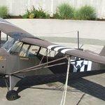 Spotter plane