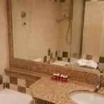 現代設計的浴室