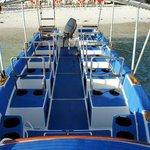 Hayabusa speedboat for 8 divers