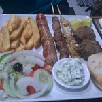 Traditional Grek grub :-)