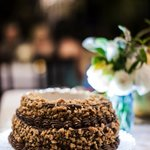 This Wedding Cake was the best. EVER. (Karen Loudon Photography)