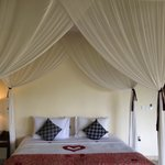Bed room and King bed for both villas
