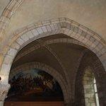 Décoration de l'ancienne chapelle