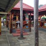 Dinning area at Haim Chicken Inato